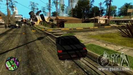 Transport V2 instead of bullets for GTA San Andreas third screenshot