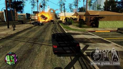Transport V2 instead of bullets for GTA San Andreas forth screenshot