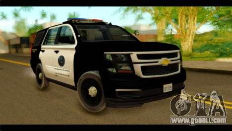 Chevrolet Suburban 2015 SAPD for GTA San Andreas