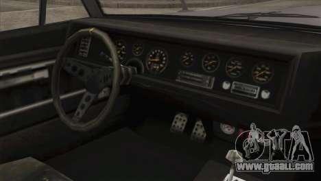 GTA 5 Declasse Stallion IVF for GTA San Andreas right view