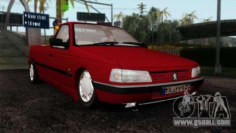 Peugeot 405 Pickup for GTA San Andreas