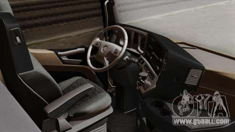 Mercedes-Benz Actros MP4 Euro 6 IVF for GTA San Andreas right view