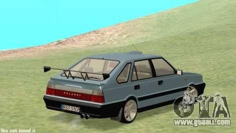 Daewoo FSO Polonez Caro Plus ABC 1999 for GTA San Andreas inner view