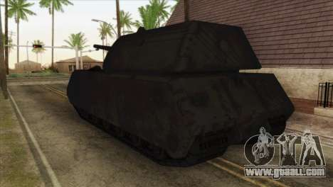 Panzerkampfwagen VIII Maus for GTA San Andreas left view