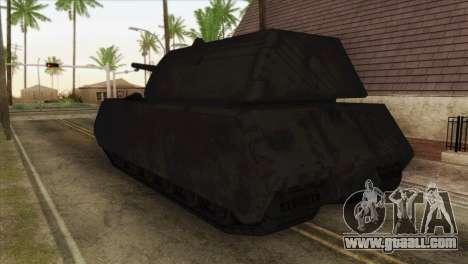 Panzerkampfwagen VIII Maus for GTA San Andreas left view