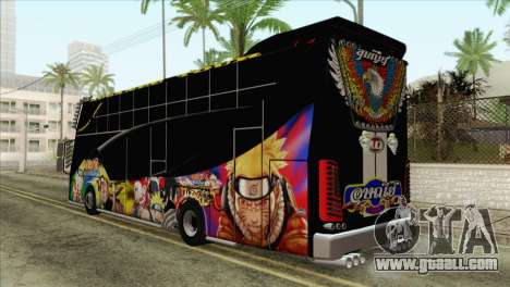Bus Thailand for GTA San Andreas left view