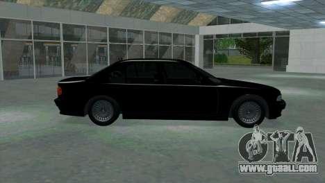 BMW 750i e38 for GTA San Andreas left view