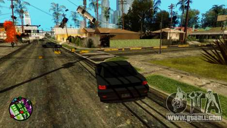 Transport V2 instead of bullets for GTA San Andreas second screenshot