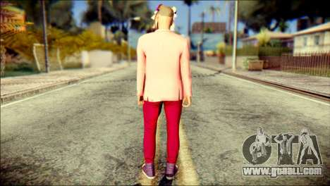 Skin Kawaiis GTA V Online v2 for GTA San Andreas second screenshot