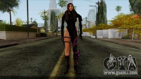 Jessica Sherawat from Resident Evil Revelations for GTA San Andreas