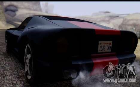 Bullet PFR v1.1 HD for GTA San Andreas back view