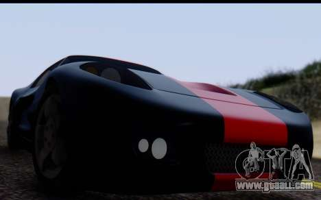 Bullet PFR v1.1 HD for GTA San Andreas right view