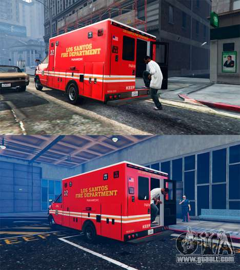 GTA 5 Ambulance v0.7.2 third screenshot