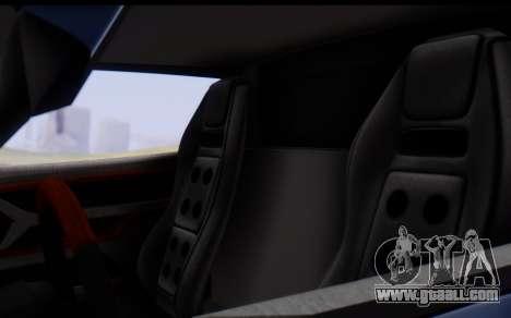 Bullet PFR v1.1 HD for GTA San Andreas bottom view
