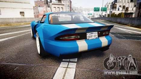 Bravado Banshee Double Stripe for GTA 4 back left view