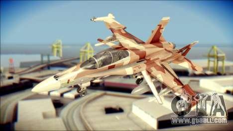 F-18D NSAWC for GTA San Andreas