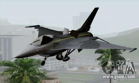 F-16XL for GTA San Andreas