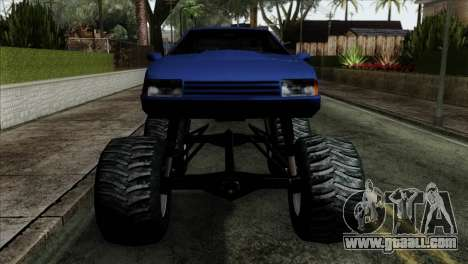 Monster Cadrona for GTA San Andreas back view