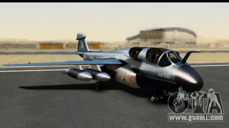 Northrop Grumman EA-6B ISAF for GTA San Andreas left view