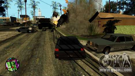 Transport V2 instead of bullets for GTA San Andreas seventh screenshot