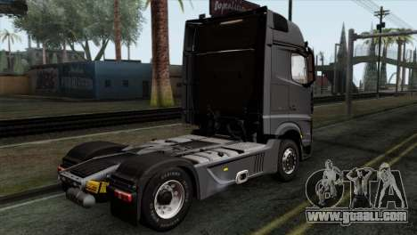 Mercedes-Benz Actros MP4 Euro 6 IVF for GTA San Andreas left view