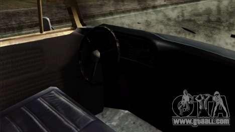 Volkswagen T2 Bob Marley for GTA San Andreas right view