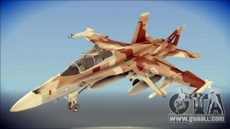 F-22 Raptor Starscream for GTA San Andreas