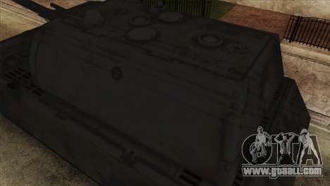 Panzerkampfwagen VIII Maus for GTA San Andreas right view