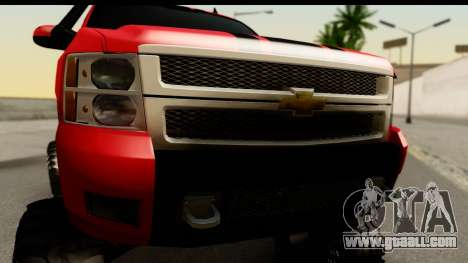 Chevrolet Silverado OffRoad for GTA San Andreas back left view
