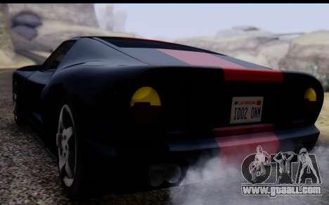 Bullet PFR v1.1 HD for GTA San Andreas inner view
