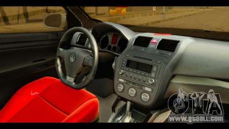 Volkswagen Bora for GTA San Andreas right view