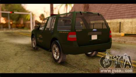 Ford Expedition 2009 SANG for GTA San Andreas left view