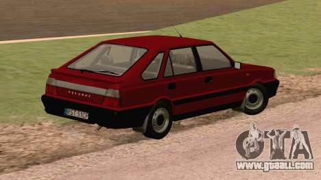 Daewoo FSO Polonez Caro Plus ABC 1999 for GTA San Andreas back left view