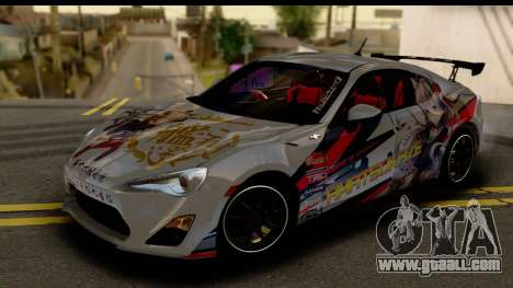 Toyota GT86 Itasha for GTA San Andreas