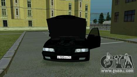BMW 750i e38 for GTA San Andreas