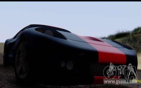Bullet PFR v1.1 HD for GTA San Andreas back left view