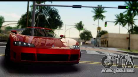 GTA 5 Overflod Entity XF for GTA San Andreas back left view