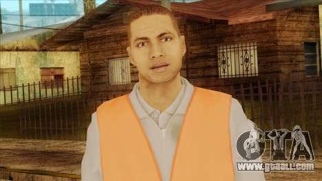 Takedown Redsabre NPC Shipworker v2 for GTA San Andreas third screenshot