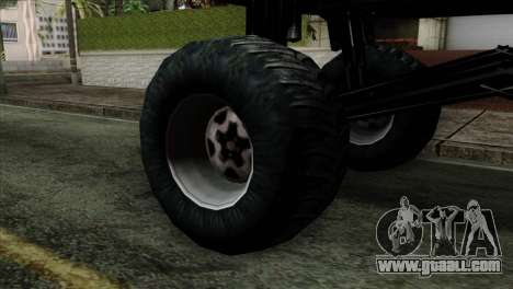 Monster Cadrona for GTA San Andreas back left view