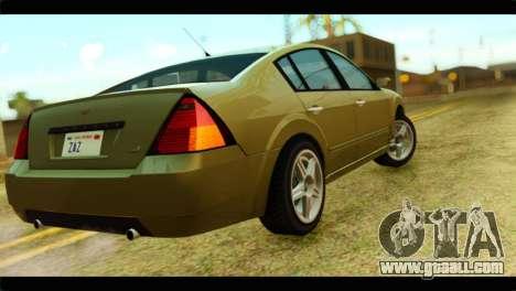 GTA 4 Pinnacle for GTA San Andreas left view