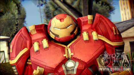 Hulkbuster Iron Man v1 for GTA San Andreas third screenshot