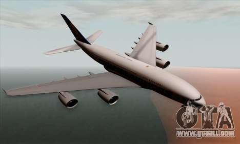 Airbus A380-800 Singapore Airline for GTA San Andreas