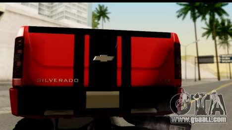 Chevrolet Silverado OffRoad for GTA San Andreas right view