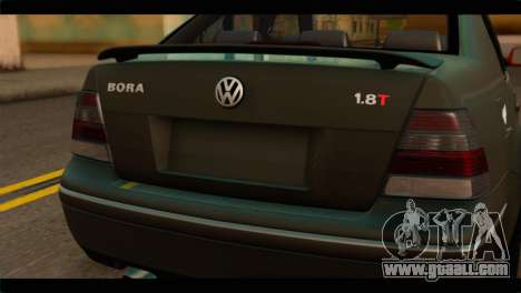 Volkswagen Bora 2007 for GTA San Andreas back view