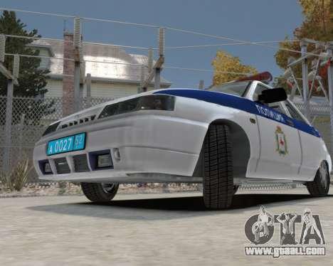 VAZ 2112 DPS for GTA 4 back view