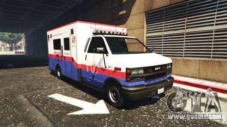 GTA 5 Ambulance v0.7.2 second screenshot