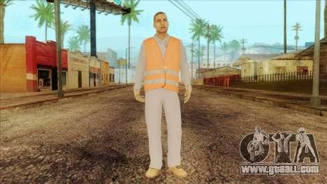 Takedown Redsabre NPC Shipworker v2 for GTA San Andreas