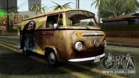 Volkswagen T2 Bob Marley for GTA San Andreas