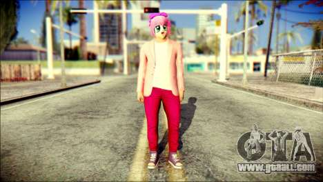 Skin Kawaiis GTA V Online v2 for GTA San Andreas