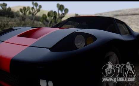 Bullet PFR v1.1 HD for GTA San Andreas side view